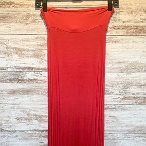 Wet Seal soft and stretchy maxi skirt